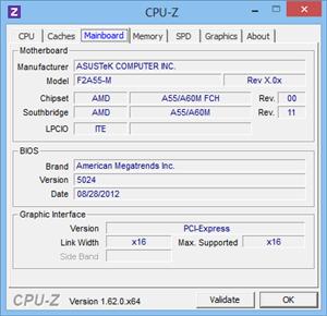CPU-Z 1.62