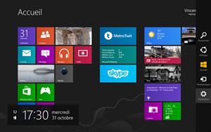 windows8 parametres