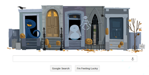 google halloween easter eggs