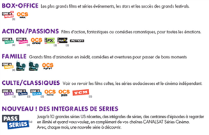 CanalSat Pack