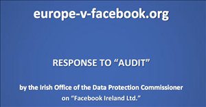 europe vs facebook audit