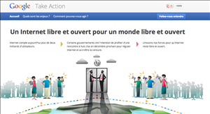 take action google uit