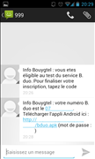 B.duo Bouygues Telecom Bêta Android