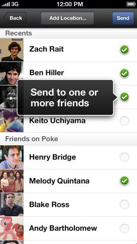 facebook poke ios
