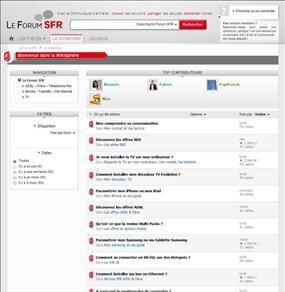 nouveau forum sfr