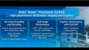 Intel Atom Z2420 Lexington