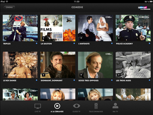 Canaltouch iOS Canalsat
