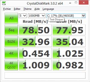 Giada i53 Perfs HDD