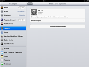 Apple iOS 6.1
