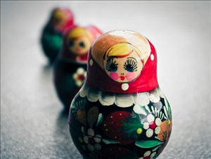 poupée russie russe