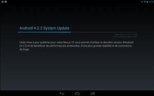 Nexus 10 Android 4.2.2