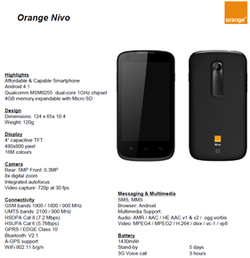 Orange Nivo