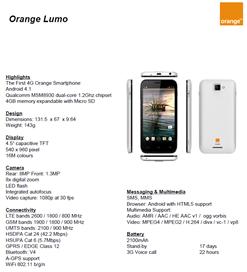 Orange Lumo