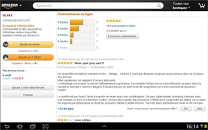 Amazon Tablette Android