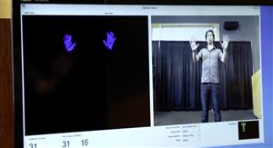 Microsoft Kinect SDK Windows détection mains