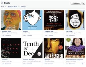 Facebook Timeline Mars 2013