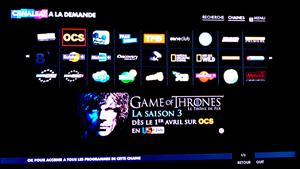 OCS Game of Thrones Saison 3 Canalsat