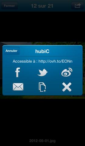 HubiC OVH iOS