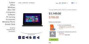 Microsoft Ventes Windows 8