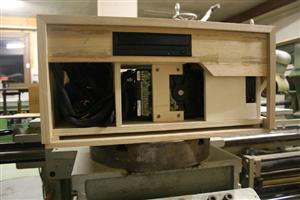 boîtier HTPC bois