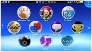 PS Vita Sony firmware 2.10
