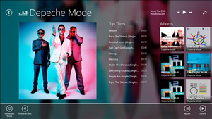 Deezer Windows 8