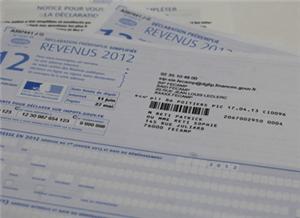 Impôts sur le revenu 2012