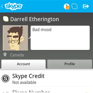 skype q10 blackberry