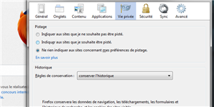 Do Not Track Firefox 21