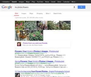 Google+ recherche photo