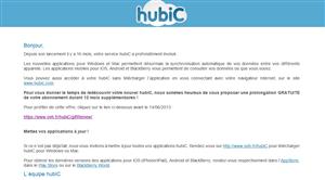 OVH Hubic 1 an