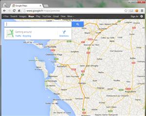 Chrome Google Maps