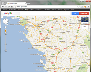 Chrome Google Maps