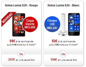 Lumia 820 Free Mobile