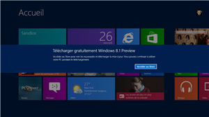 Windows 8.1 RT Preview