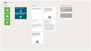 Evernote Touch