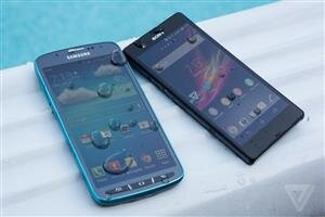 Galaxy S4 Active vs Xperia Z The verge