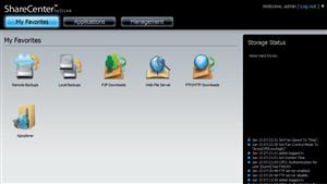 Dossier NAS Interface DLink