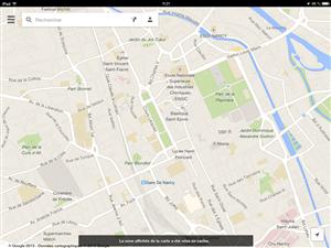 Google Maps iOS mode hors ligne
