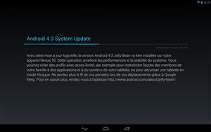 Nexus 10 Android 4.3