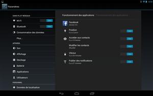 Android 4.3 Fonctionnement des Applications