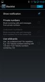 CyanogenMod Global blacklist