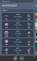 Bing sport WP8