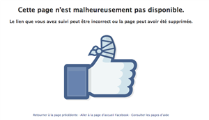 facebook pouce inaccessible