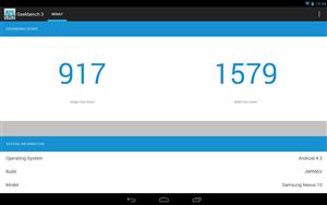 Geekbench 3.0 Nexus 10