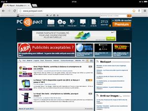 PC INpact iPad Mini