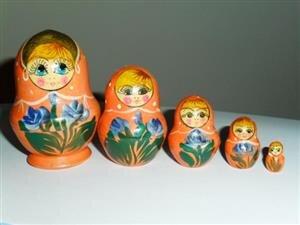 femmes russes poupées