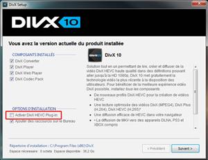 DivX 10 H.265