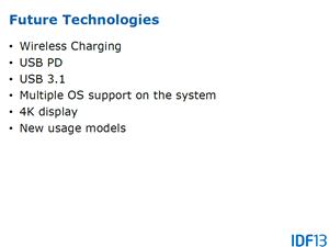Intel IDF2013 Ultrabook