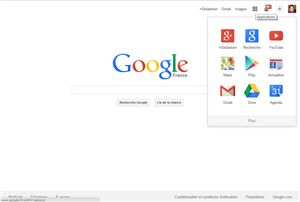 Google page accueil